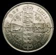 London Coins : A151 : Lot 1500 : Florin 1859 ESC 817, CGS type FL.V1.1859.01, GEF and lustrous, slabbed and graded CGS 70