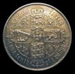 London Coins : A151 : Lot 1502 : Florin 1864 brit. (stop instead of colon) CGS variety 04, CGS type FL.V1.1864.04 Die Number 30, so f...