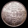 London Coins : A151 : Lot 1513 : Florin 1875 ESC 844, CGS type FL.V1.1875.01, Die Number 18, UNC and lustrous, slabbed and graded CGS...