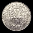 London Coins : A151 : Lot 1539 : Florin 1895 Davies 838, dies 2A, Obverse:- First I of VICTORIA points to a bead. Reverse :- Left han...