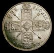 London Coins : A151 : Lot 1563 : Florin 1920 Davies 1744 dies 2E. I of GEORGIVS points to a space. Early head with more relief. CGS t...