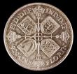 London Coins : A151 : Lot 1573 : Florin 1929 ESC 949, CGS type FL.G5.1929.01, UNC and choice with golden tone, slabbed and graded CGS...