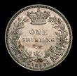 London Coins : A151 : Lot 1606 : Shilling 1853 Small S over Large (Normal) S in SHILLING, CGS type SH.V1.1853.03, EF the reverse with...