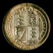 London Coins : A151 : Lot 1627 : Shilling 1891 ESC 1358, CGS type SH.V1.1891.01, UNC the obverse deeply toned, slabbed and graded CGS...