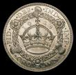 London Coins : A151 : Lot 2258 : Crown 1928 ESC 368 About EF/EF with a small dark spot on the crown