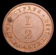 London Coins : A152 : Lot 1139 : Cyprus Half Piastre 1930 KM#17 EF with a verdigris spot on either side