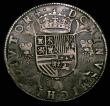 London Coins : A152 : Lot 1149 : Flanders Thaler 1557 Philip II Good Fine/Fine with a excellent portrait, the fields with some scratc...