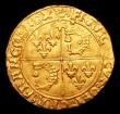 London Coins : A152 : Lot 1165 : France Ecu d'or du Dauphine Francois I (1515-1547) Friedberg 357 formerly in an NGC holder and ...