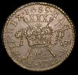London Coins : A152 : Lot 1218 : Ireland Halfcrown 1689 Mar. Gunmoney S.6579L NEF the obverse with some light pitting, slabbed and gr...