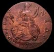 London Coins : A152 : Lot 1339 : USA -  Halfpenny George III 1772 Contemporary Counterfeit of crude type, Coleman CH-1772B-2, also Li...