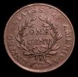 London Coins : A152 : Lot 1349 : USA Cent 1802 9 Berries, Breen 1749 VF with die flaw running from 12 o'clock to 3 o'clock ...