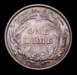 London Coins : A152 : Lot 1354 : USA Dime 1892 Breen 3470 UNC with an attractive and colourful tone
