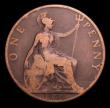 London Coins : A152 : Lot 2463 : Penny 1900 with milled edge unlisted by Freeman, Peck or Gouby, VG, very rare, Ex-London Coins Aucti...