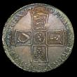 London Coins : A152 : Lot 2855 : Halfcrown 1701 Plain in angles ESC 564 GEF, slabbed and graded CGS 70