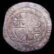 London Coins : A153 : Lot 1930 : Halfcrown Charles I Group III, Third Horseman, type 3a2 rough ground under horse S.2776 mintmark Tri...