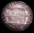 London Coins : A153 : Lot 1994 : Shilling Elizabeth I Milled issue 1561-1571 intermediate size mintmark Star S.2591 Fine/Good Fine fo...