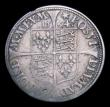 London Coins : A153 : Lot 2020 : Sixpence Elizabeth I Milled Coinage 1564 Low ruff with raised rim S.2598A Fine with some weakness at...