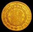 London Coins : A153 : Lot 894 : Bolivia 4 Escudos 1795 PTS PP KM#80 Fine/Good Fine Ex-Jewellery the edge with an expert repair at th...