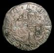 London Coins : A154 : Lot 1673 : Shilling Charles I Group D, type 3a, no inner circles, Rev. Round garnished shield no CR S.2791 mint...