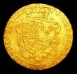 London Coins : A154 : Lot 2044 : Guinea 1774 S.3728 Good Fine with  slight bend in the flan