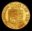 London Coins : A154 : Lot 2073 : Half Sovereign 1817 Marsh 400 NVF once bent and straightened