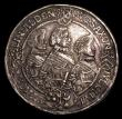London Coins : A154 : Lot 792 : German States - Saxe-Old-Altenburg Thaler 1624WA 4 Brothers, middle figure on the reverse holds a ba...