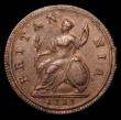 London Coins : A155 : Lot 1053 : Halfpenny 1717 Peck 768 VF