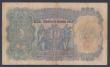 London Coins : A155 : Lot 1824 : Burma 10 rupees Provisional issue 1937, last series for type R/49 914953 , KGV portrait, signed Kell...