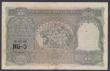 London Coins : A155 : Lot 1881 : India 100 rupees KGVI issued 1943 series B/19 134120, Calcutta branch, signed Deshmukh, Pick20e, mul...