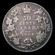 London Coins : A155 : Lot 2199 : Canada 50 Cents 1904 KM#12 VG one of the key dates in the series