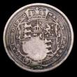 London Coins : A155 : Lot 2207 : Costa Rica 2 Reals undated (1849-1857) Countermark on GB 1819 George III Shilling KM#93 Countermark ...