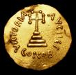 London Coins : A155 : Lot 442 : Byzantine Gold Solidus Constans II (641-646) Fine, ex-jewellery