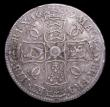 London Coins : A155 : Lot 688 : Crown 1679 Fourth Bust ESC 57 Good Fine