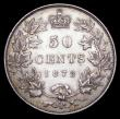 London Coins : A156 : Lot 1123 : Canada 50 Cents 1872H KM#6 EF/About EF and with an attractive tone