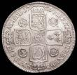 London Coins : A156 : Lot 1866 : Crown 1739 Roses ESC 122 NVF/VF and of pleasing overall appearance