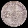 London Coins : A156 : Lot 2595 : Shilling 1709 Third Bust ESC 1154 EF/GEF and nicely toned