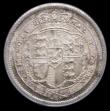 London Coins : A156 : Lot 2639 : Shilling 1817 ESC 1232 Choice UNC, slabbed and graded LCGS 85