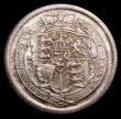 London Coins : A156 : Lot 2640 : Shilling 1817 ESC 1232 Choice UNC, slabbed and graded LCGS 88, the joint finest known of 27 examples...