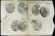 London Coins : A156 : Lot 288 : Portugal War of the 2 Brothers 12800 reis issued 1826 (old date 1799) series No.177473, Pedro IV sea...