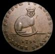 London Coins : A156 : Lot 907 : Halfpenny Middlesex 18th Century Spence's 1796 Reverse Cat DH680 GVF