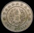 London Coins : A157 : Lot 1371 : China - Republic Dollar 1914 Y#322 Founding of the Republic 2.8mm thickness Unc even tone