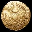 London Coins : A157 : Lot 1873 : Gold Halfcrown Henry VIII Third Coinage Bristol Mint S.2315 mintmark WS monogram/-, Fine with a ligh...
