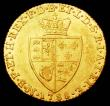 London Coins : A157 : Lot 2241 : Guinea 1788 S.3729 EF/NEF with a thin scratch by the shield