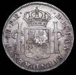 London Coins : A157 : Lot 2281 : Half Dollar 1778 as ESC 611, S.3767 Oval Countermark on Bolivia Potosi 4 Reales countermark NEF host...