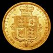 London Coins : A157 : Lot 2316 : Half Sovereign 1884 Marsh 458 NEF