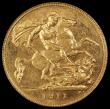 London Coins : A157 : Lot 2327 : Half Sovereign 1911 Proof S.4006 in a PCGS holder and graded PR63