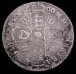 London Coins : A157 : Lot 2344 : Halfcrown 1666 6 over 4 ESC 461 Fair with some scratches, Extremely Rare, rated R5 by ESC, (5-10 exa...