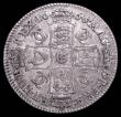 London Coins : A157 : Lot 2347 : Halfcrown 1668 8 over 4 ESC 464 Fine/Good Fine, Ex-Croydon Coin Auction 26/4/2016 Lot 292