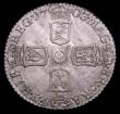 London Coins : A157 : Lot 3124 : Sixpence 1703 VIGO ESC 1582 GEF and attractively toned