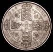 London Coins : A157 : Lot 3460 : Florin 1880 ESC 854 Davies 771 dies 7B NEF with a small spot on the obverse rim
